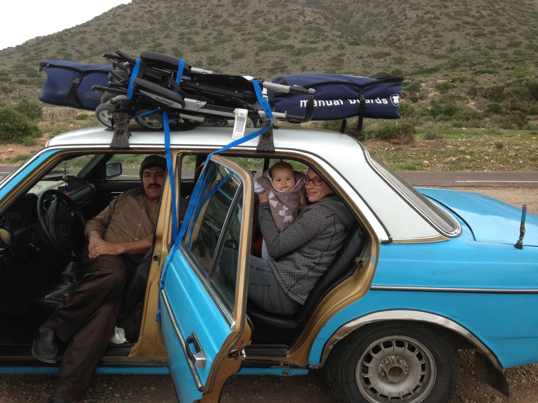 taxi marocain, mercédes