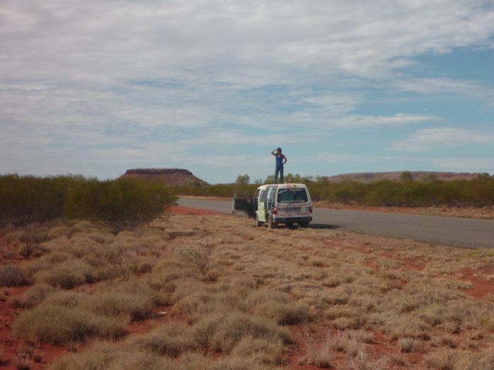 australie de l'ouest, vanlife, seuls au monde, désert, on the road