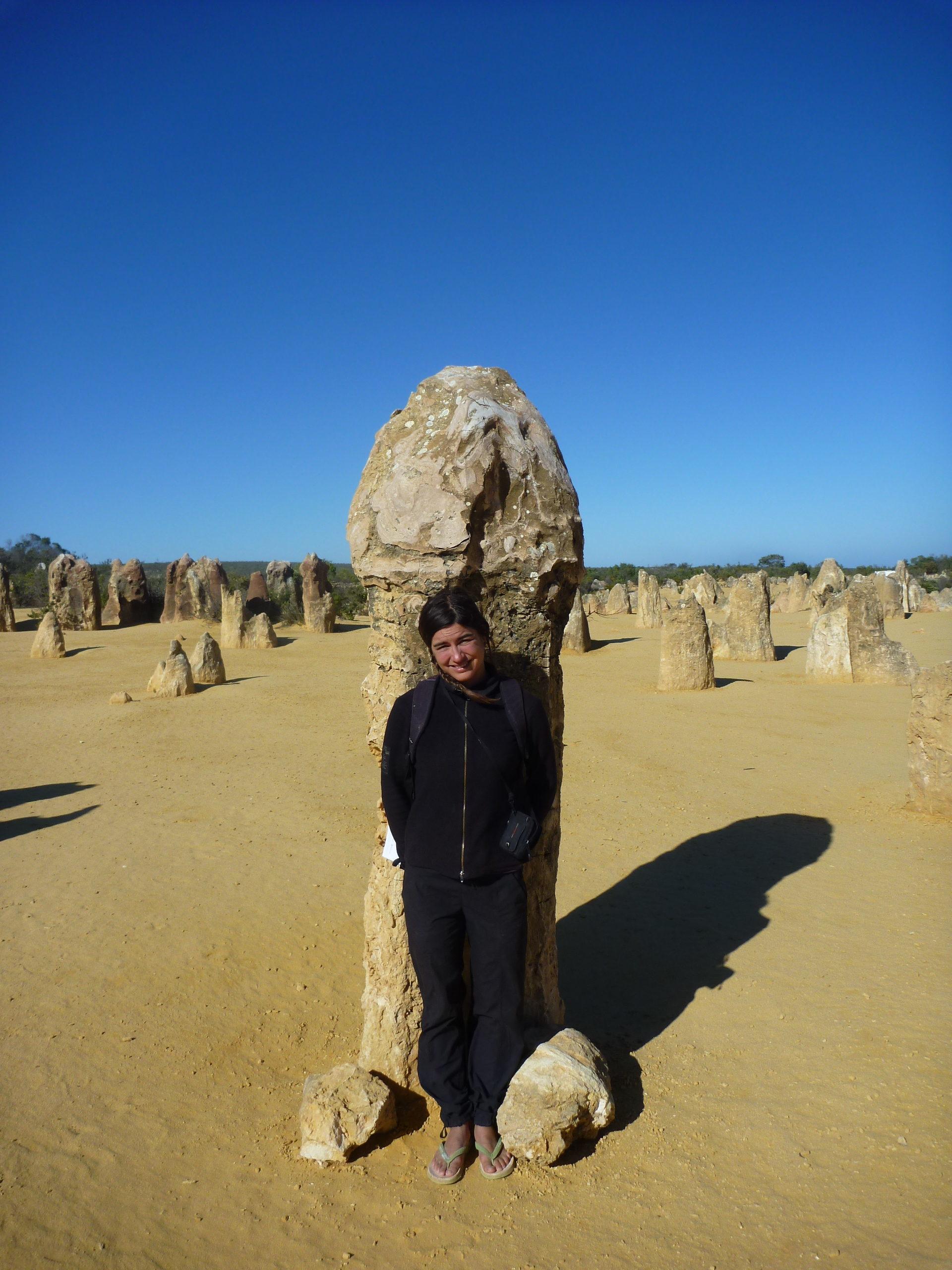 desert des pinnacles australie de l'ouest
