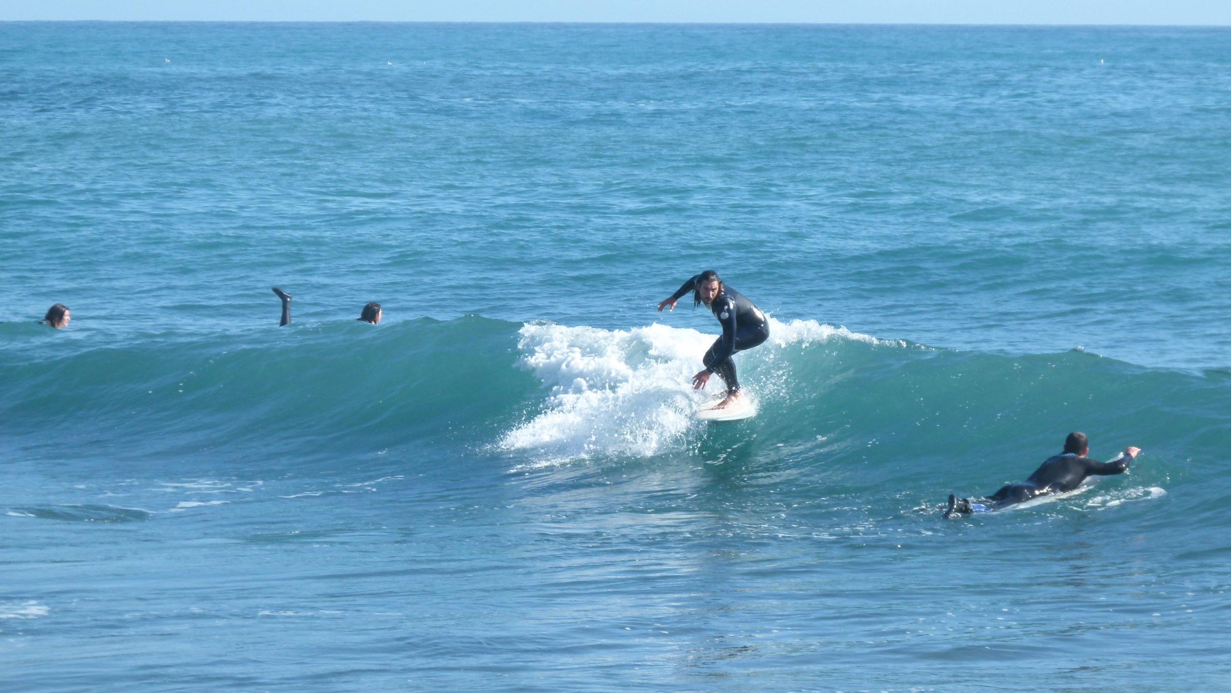 jeremy Frérot surf backside méditerranée