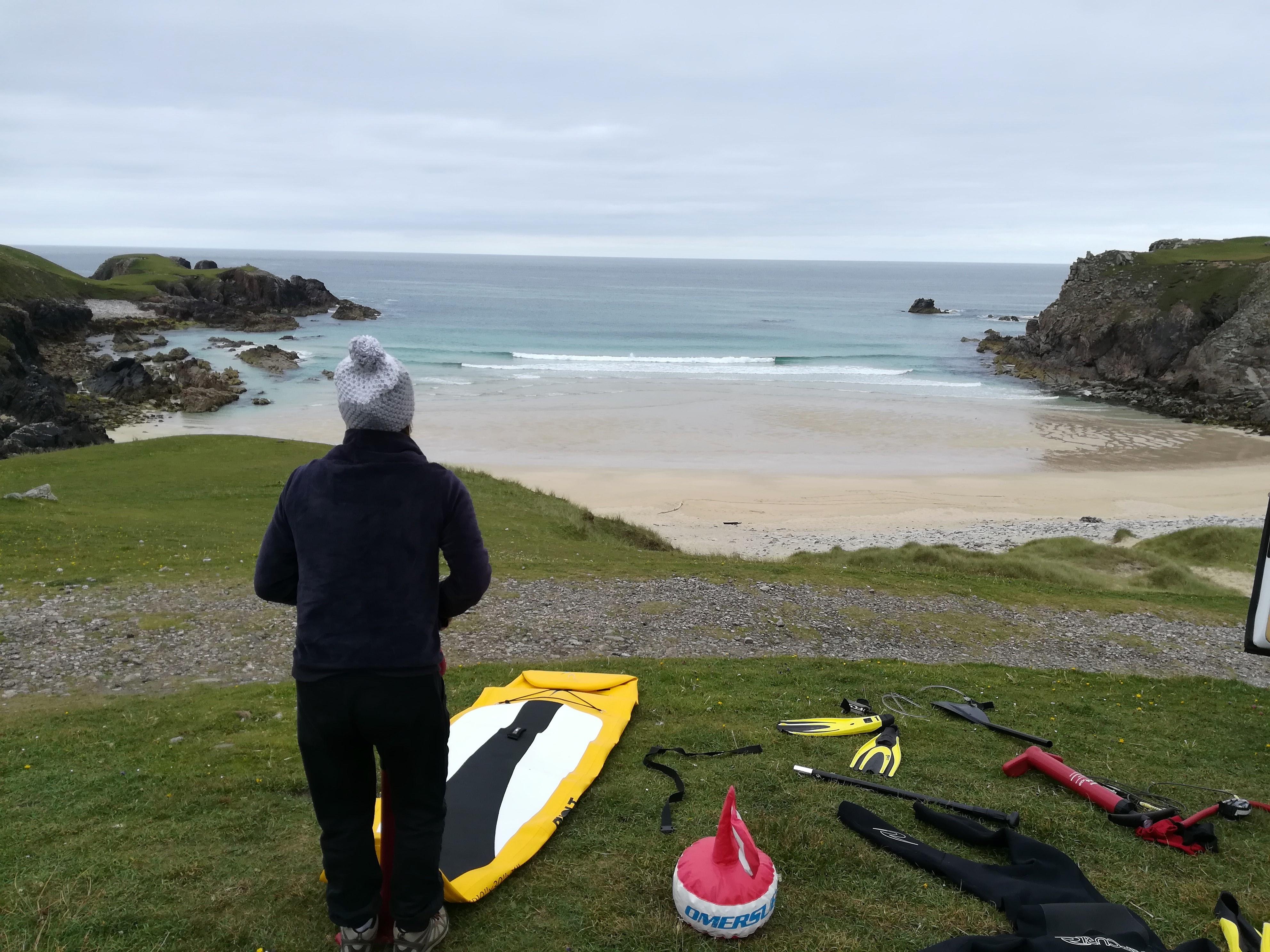 surf spot mangerta Lewis hébrides
