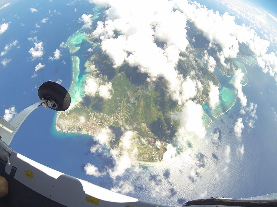 moréa drop zone parachutisme