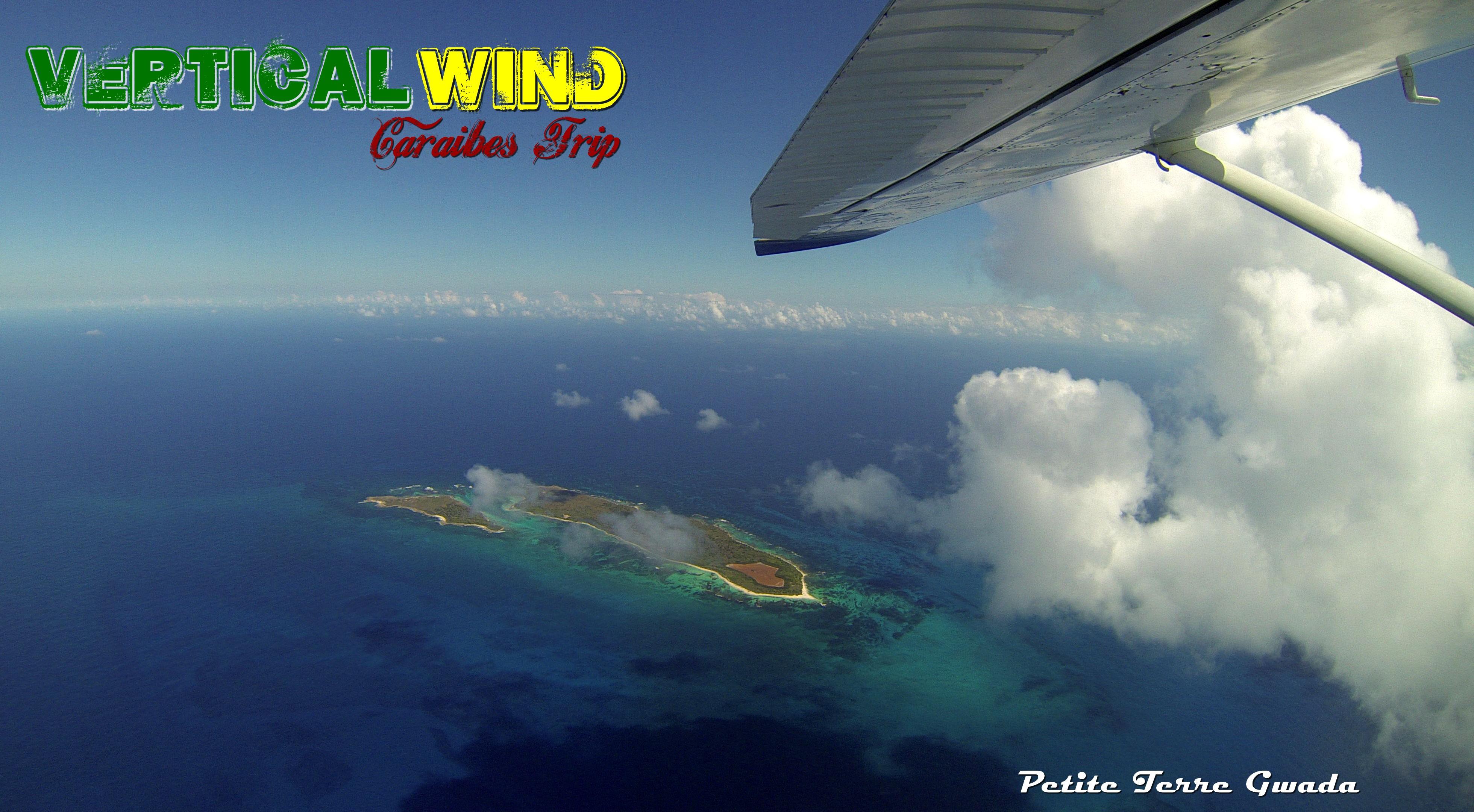 parachutisme drop zone guadeloupe surfeuse