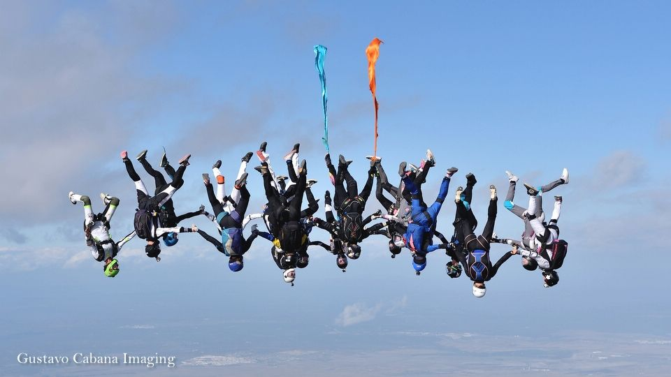 freefly parachutisme record de France surfeuse