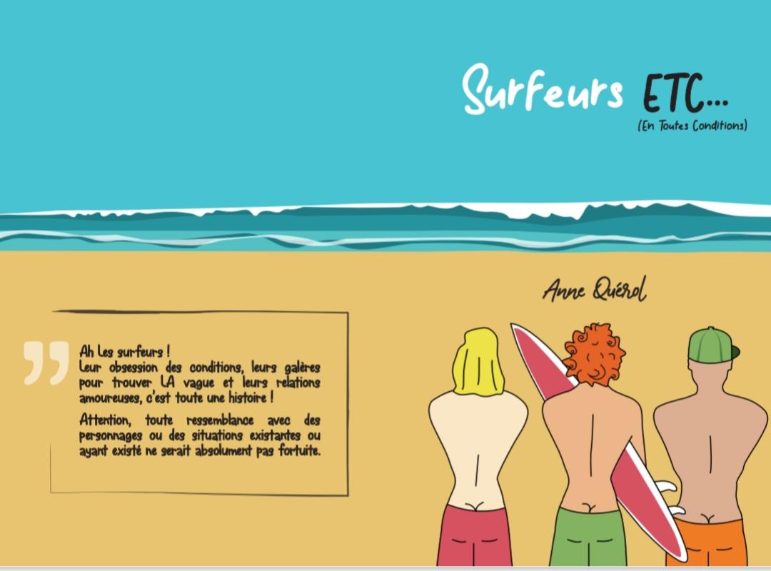 pépites culture surf BD humoristique sur les surfeurs