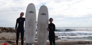 turtle surfboard; team girl