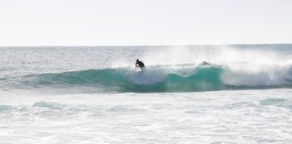 take off côte bleue surfeuse